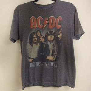 ACDC Vintage Style T-shirt Sz Medium